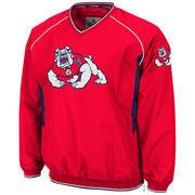 Fresno State Bulldogs  Hardball II Pullover Jacket - Cardinal