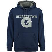 Men's Navy Georgetown Hoyas Grayton Pullover Hoodie