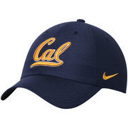 Men's Nike Navy Cal Bears Heritage 86 Authentic Adjustable Performance Hat