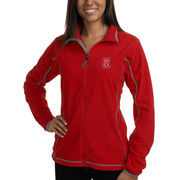 Women's NC State Wolfpack Antigua Red Ice Fleece Jacket