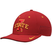 Men's Nike Crimson Iowa State Cyclones Dri-FIT Sideline Swoosh Flex Hat