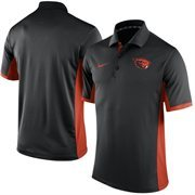 Men's Nike Black Oregon State Beavers Team Issue Performance Polo