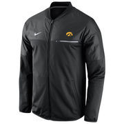 Men's Nike Black Iowa Hawkeyes 2016 Sideline Elite Hybrid Performance Jacket