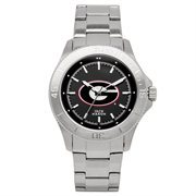 Jack Mason Brand Georgia Bulldogs Sport Bracelet with Large Logo Watch
