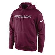 Men's Nike Crimson Harvard Crimson KO Performance Pullover Hoodie
