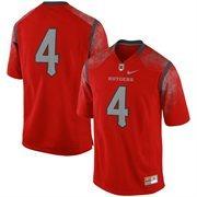 #4 Rutgers Scarlet Knights Nike Replica Football Jersey - Scarlet