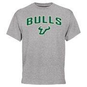 Gray South Florida Bulls Proud Mascot T-Shirt