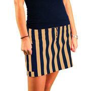 Game Bibs Women's Skirt - Navy Blue/Gold