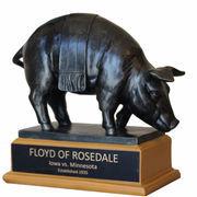 Iowa Hawkeyes vs Minnesota Golden Gophers Floyd of Rosedale Dueling Replica Rivalry Trophy