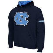 Men's Stadium Athletic Navy North Carolina Tar Heels Big Logo Pullover Hoodie