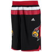 Men's adidas Black Louisville Cardinals Premier Basketball Shorts