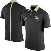 Men's Nike Black Army Black Knights 2015 Coaches Sideline Dri-FIT Polo