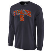 Men's Navy Syracuse Orange Campus Long Sleeve T-Shirt