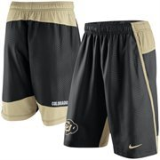 Men's Nike Black Colorado Buffaloes Fly 3.0 Shorts