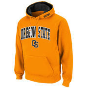 Oregon State Beavers Arch Logo Pullover Hoodie Sweatshirt - Orange