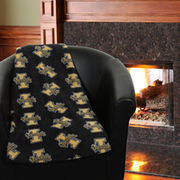 Grandma Pants Idaho Vandals 60'' x 72'' Fleece Blanket - Black
