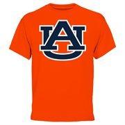Mens Auburn Tigers Orange Core Logo T-Shirt