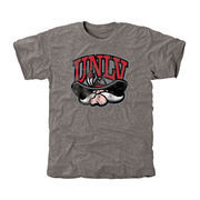 UNLV Rebels Classic Primary Tri-Blend T-Shirt - Ash