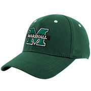 Top of the World Marshall Thundering Herd Youth Green Basic Logo 1-Fit Hat