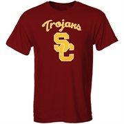 Mens Cardinal USC Trojans Logo T-Shirt