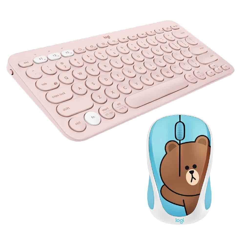 K380鍵盤+Line滑鼠