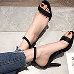 性感露趾高跟鞋