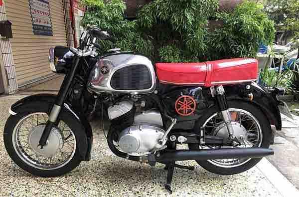山葉1965 YD3 正牌古董車