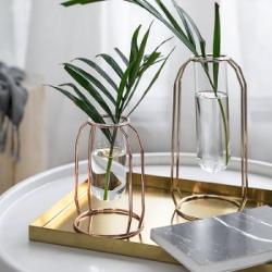 北歐燈工玻璃插花小花瓶