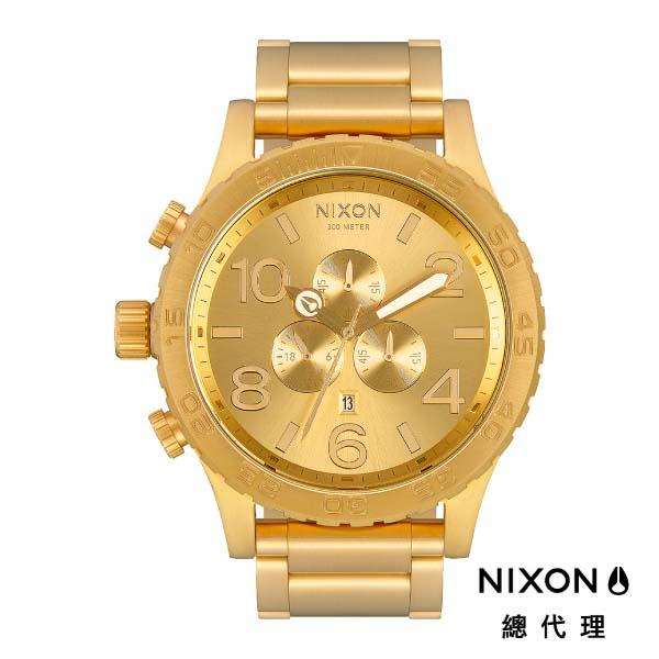 NIXON 51-30 Chrone 時尚大錶面