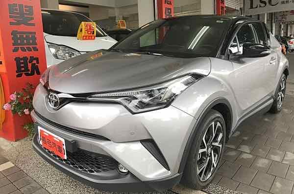 2017豐田C-HR 原廠保固中