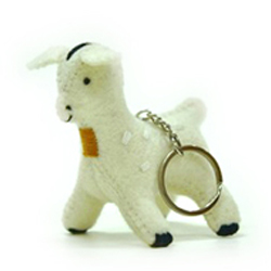 點點羊鑰匙圈