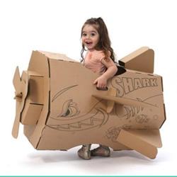 DIY紙箱飛機