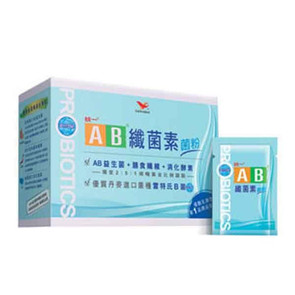 【統一】AB纖菌素菌粉  2g*30包/盒