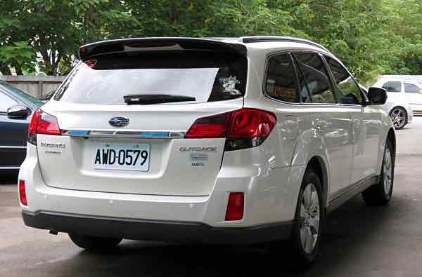 2012 Outback 2.5