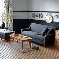 小資芙樂L型布沙發