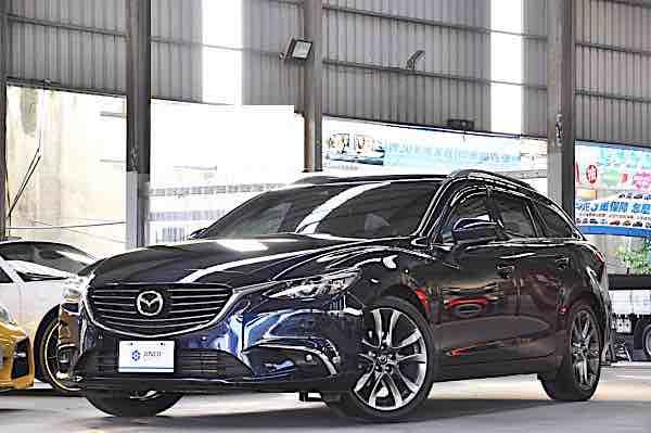 2018 Mazda 6 Wagon深藍色 總代理