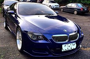 2006 BMW E63 M6