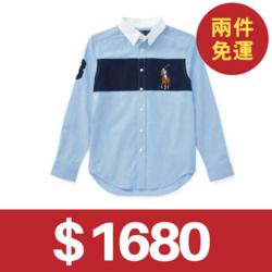 Ralph Lauren POLO彩色大馬青年款襯衫