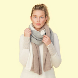 The Coziest Cashmere Blanket Scarf