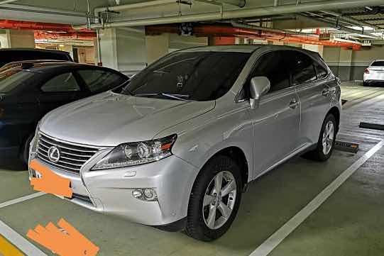2013 凌志 LEXUS RX270 自家車自售