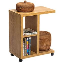 邊桌-北歐邊桌櫃多功能木質置物架