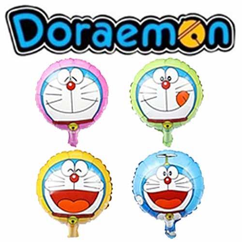 哆啦A夢圓形造型氣球