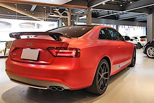 底盤耗材更新! Audi S5 coupe改裝