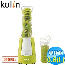 (福利品)歌林0.6(L)雙杯組果汁機