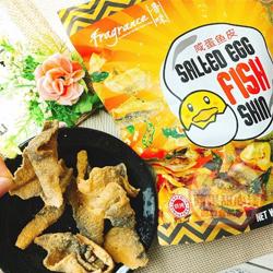 新加坡香味 鹹蛋黃魚皮