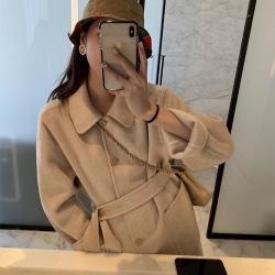 60%wool法式H版型雙面外套