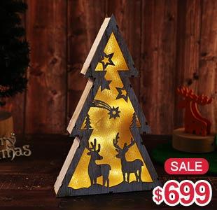 聖誕造型燈座