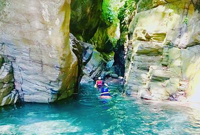 還能體驗台東魯凱族文化,清涼玩水也能瞭解人文特色。