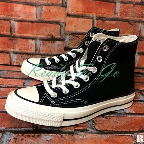CONVERSE黑色高統鞋