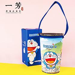 哆啦A夢X一芳環保杯袋